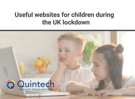 Useful websites for children during the UK lockdown