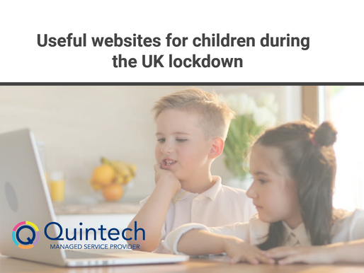 Useful websites for children during the UK lockdown