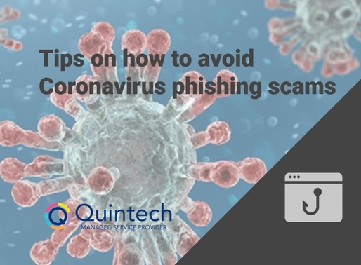 Tips on how to avoid Coronavirus phishing scams