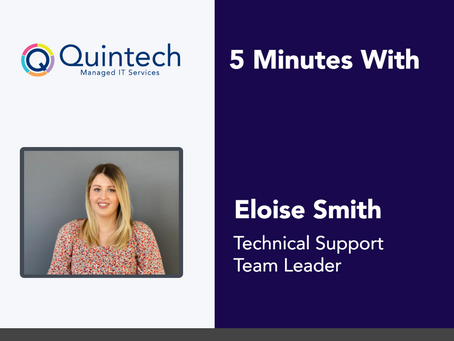 5 Minutes With Eloise Smith
