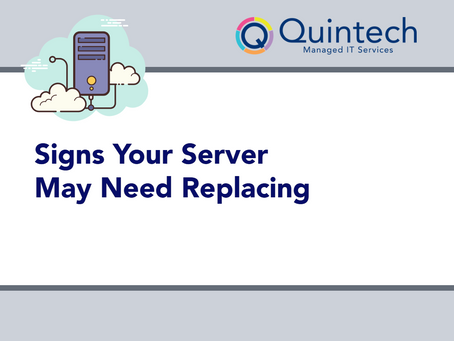 Signs Your Server May Need Replacing
