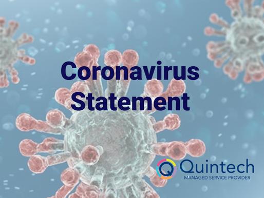 Quintech Computer Systems: Coronavirus Statement