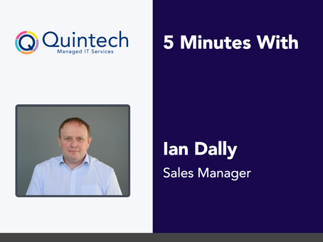 5 Minutes With Ian Dally