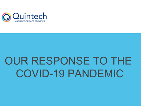 OUR RESPONSE TO THE COVID-19 PANDEMIC