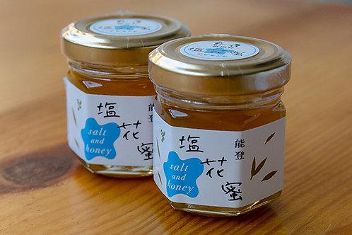 能登の蜂蜜と揚げ浜塩がコラボ|塩花蜜
