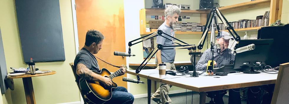 Eric Lindell live at WHUP Radio