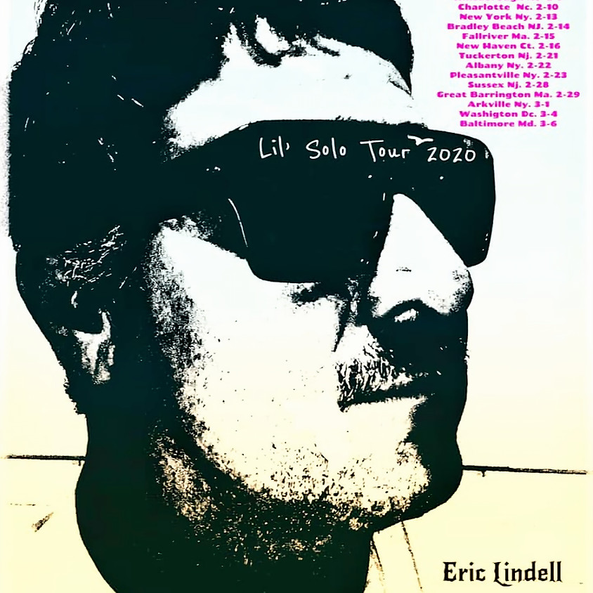 (SOLD OUT) Eric Lindell - The Solo Tour