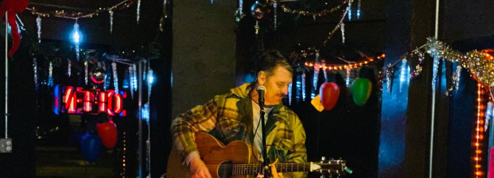 Eric Lindell acoustic set at Nash Street Tavern