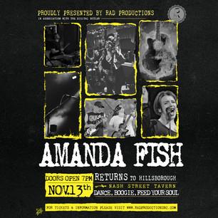 Amanda Fish Poster