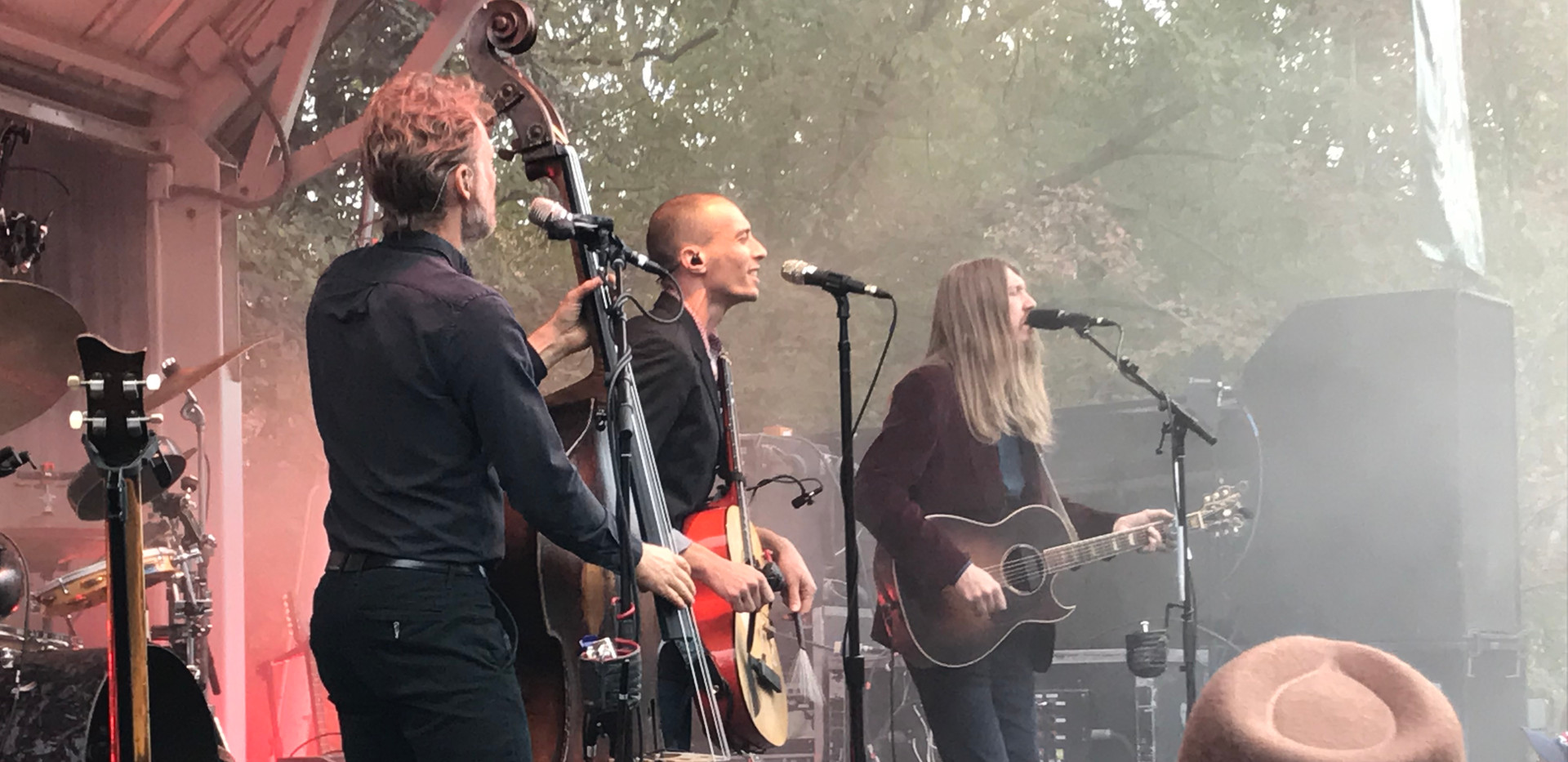 The Wood Brothers at the 2018 River Park Concert