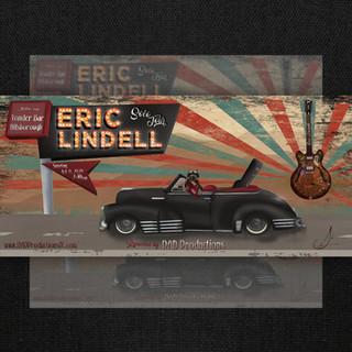 Eric Lindell Ticket Design