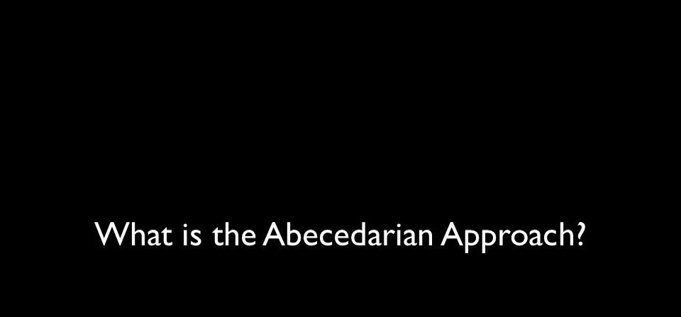 The Abecedarian Approach