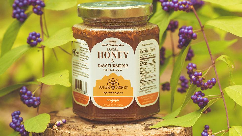 Original Super Honey with RAW Turmeric & Black Pepper