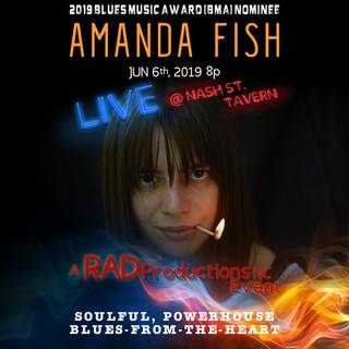 Amanda Fish Poster 2