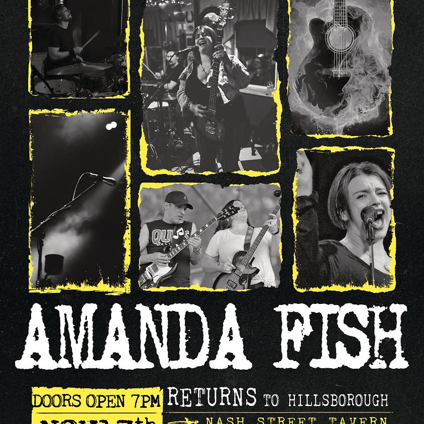 Amanda Fish LIVE @ Nash Street Tavern