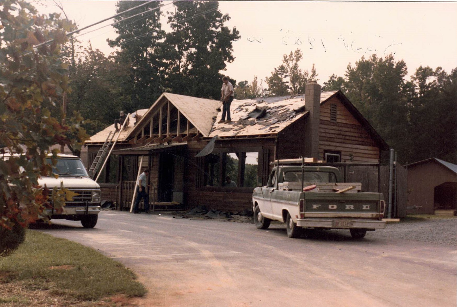 Office Remodel 1985