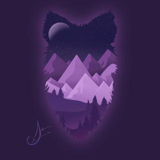Wolf Mountains Custom Art
