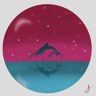 Dolphins Custom Art
