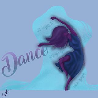 Woman Dancing Custom Art
