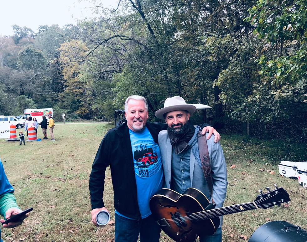 A.D. and Seth Walker River Park Concert 2018