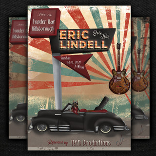 Eric Lindell Poster