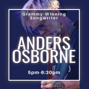 River Park Concert - Anders Osborne