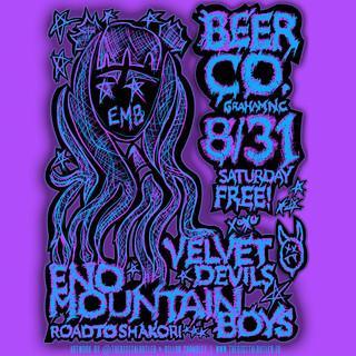 Eno Mountain Boys Beer Co Poster