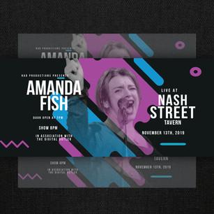 Amanda Fish Ticket Design