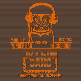 JP Leon Band Yonder Bar Poster