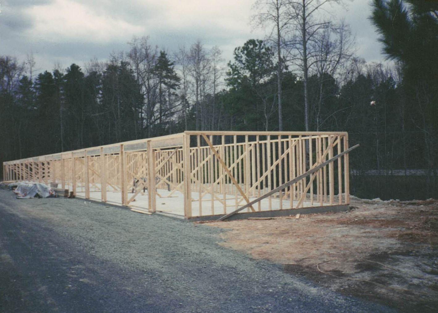 Building 1 Framing 1985
