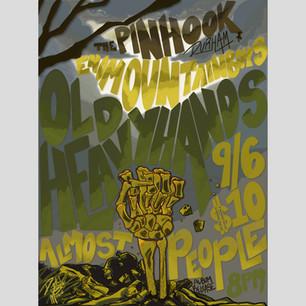 Old Heavy Hands Pinhook Poster