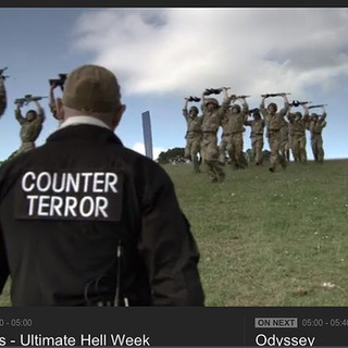 Itay Gil Starring in the Special Forces Ultimate Hell Week BBC TV