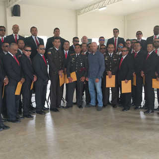 Close Protection Graduation in Equador