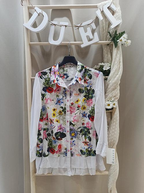 Camisa Rossan flor