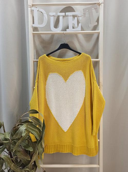 Jersey Corazón Amarillo