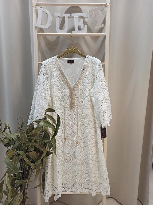 Vestido crochet DONA