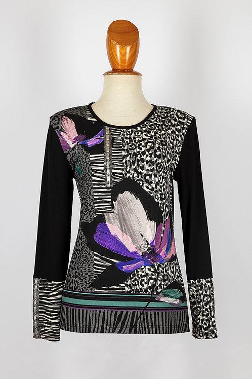 Camiseta abstracta