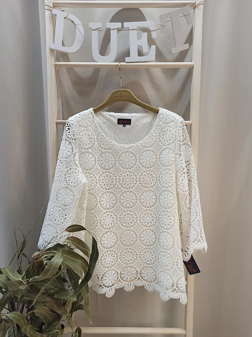 Camiseta crochet DONA