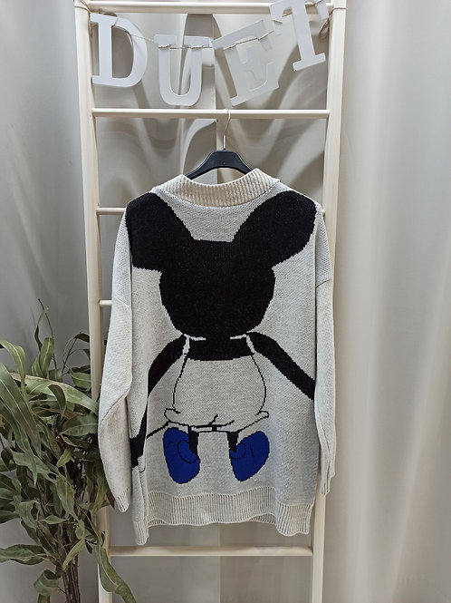 Chaqueta de Mickey beis