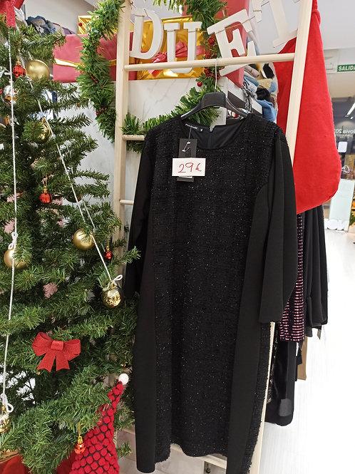 Vestido negro chanel