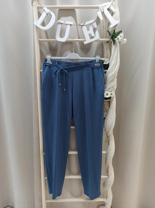 Pantalón tela azul