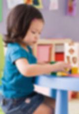 Learning through play in Lake House Bristol Nursery