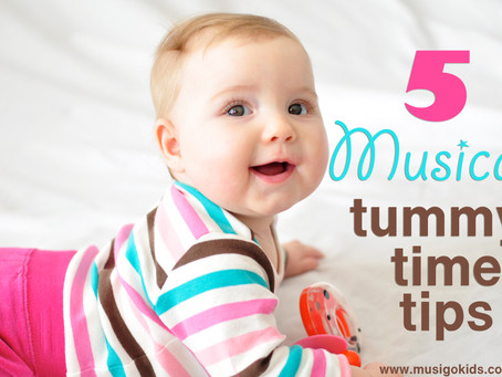 5 Musical Tummy Time Tips