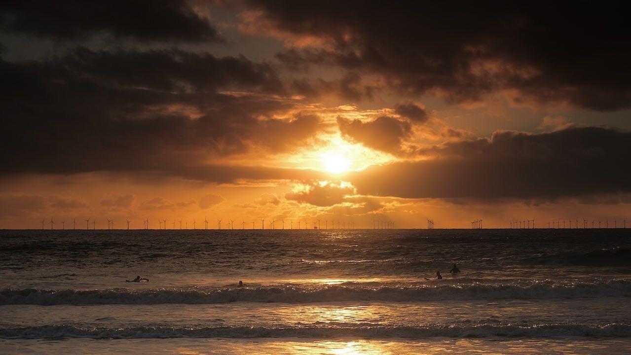 Dawn at Joss Bay