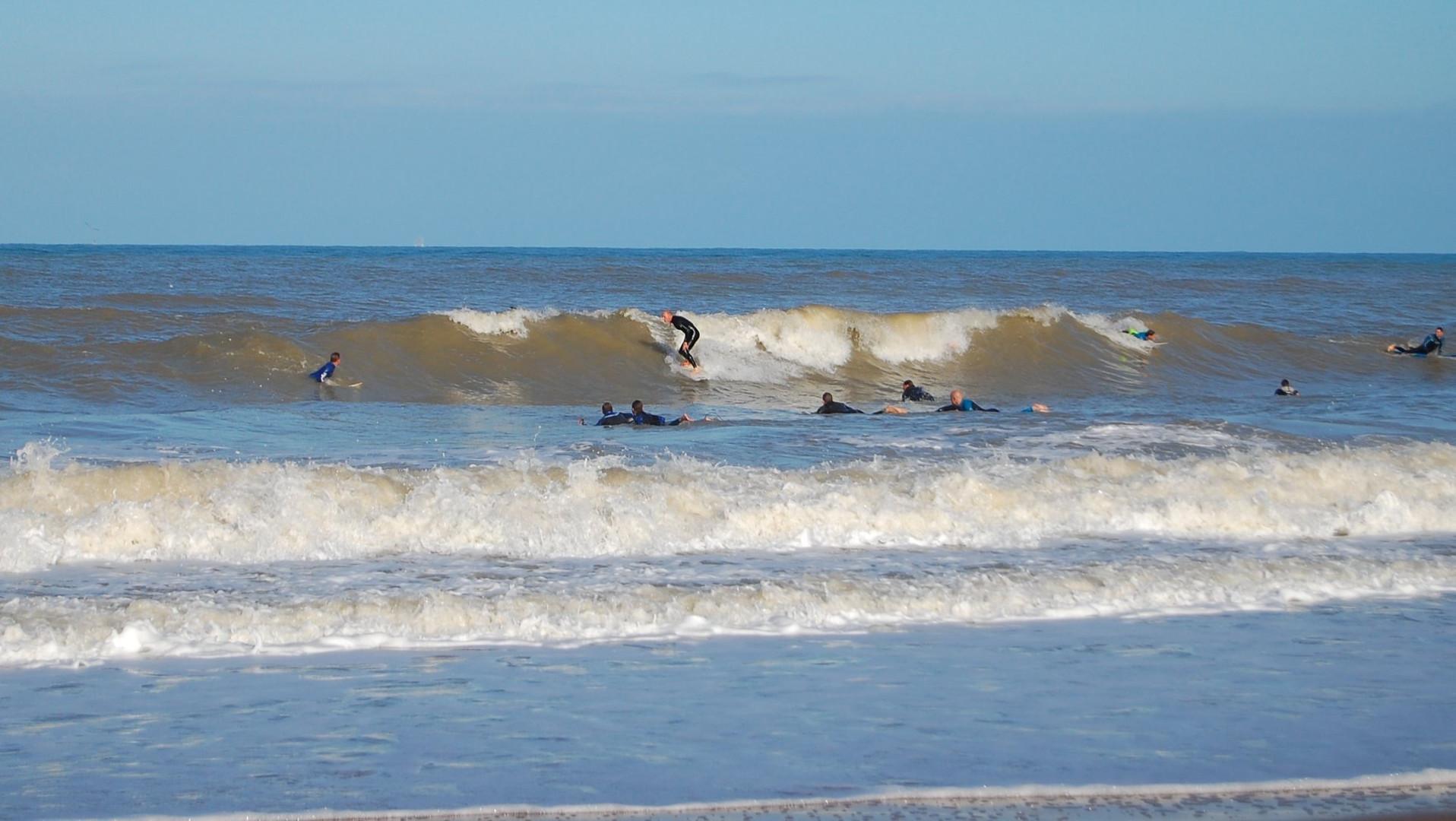 Surf at Joss Bay