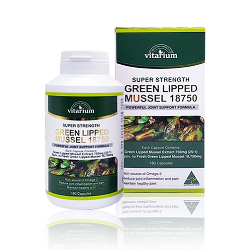 Green Lipped Mussel 18750 180 capsules