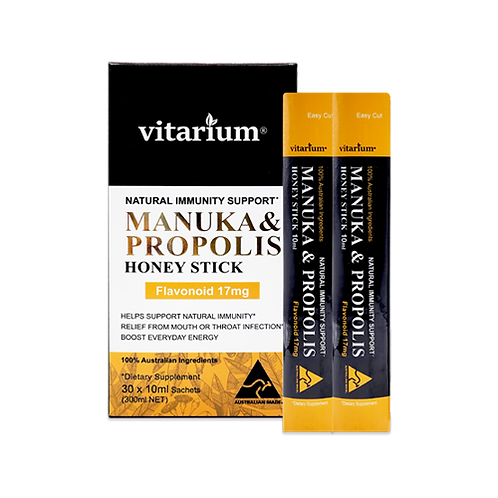 Vitarium Manuka Propolis Honey Stick 10ml x 30sachets