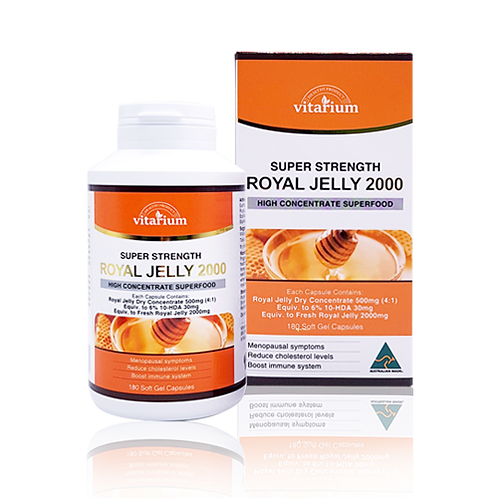 Royal Jelly 2000 180 soft gel capsules