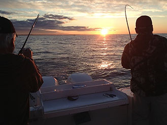 Pêche guidée sur le Lac Ontario