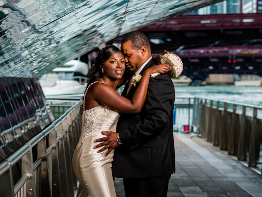 Real Wedding: W Lakeshore Drive Chicago